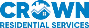 Blue Crown Residential Services Logo.